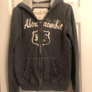 Abercrombie hooded jacket